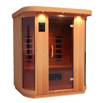 infrarotkabine kaufen ab 895 supersauna. Black Bedroom Furniture Sets. Home Design Ideas