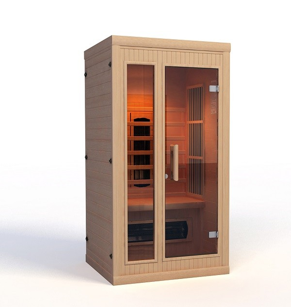 infrarotkabine kaufen f r 1 personen ab 1195 supersauna. Black Bedroom Furniture Sets. Home Design Ideas
