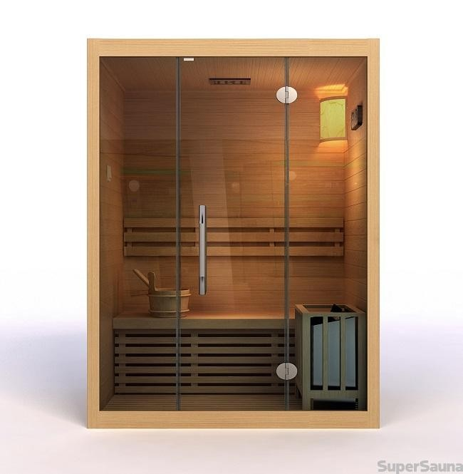 sauna kaufen f r 3 personen. Black Bedroom Furniture Sets. Home Design Ideas