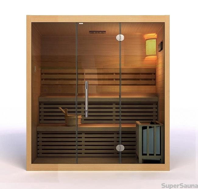 sauna kaufen f r 3 4 personen. Black Bedroom Furniture Sets. Home Design Ideas