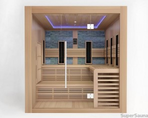 sauna zuhause. Black Bedroom Furniture Sets. Home Design Ideas
