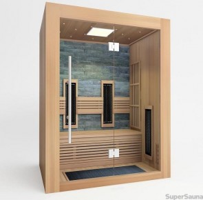 infrarot und sauna kombi sauna zuhause. Black Bedroom Furniture Sets. Home Design Ideas